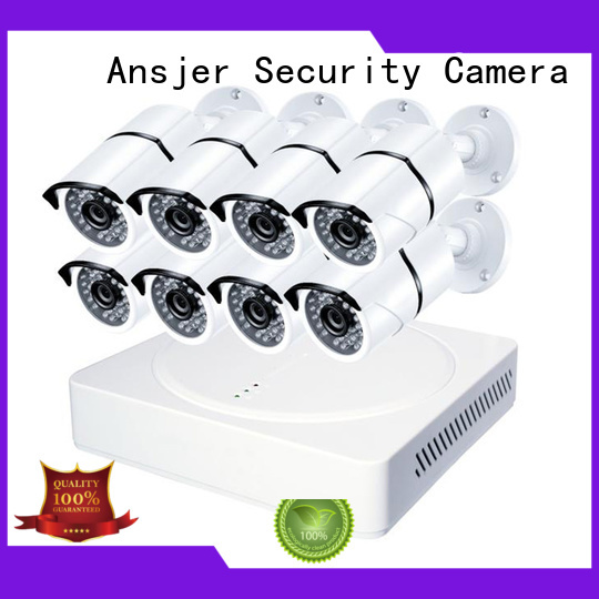 Quality Ansjer Brand durable 1080p security system