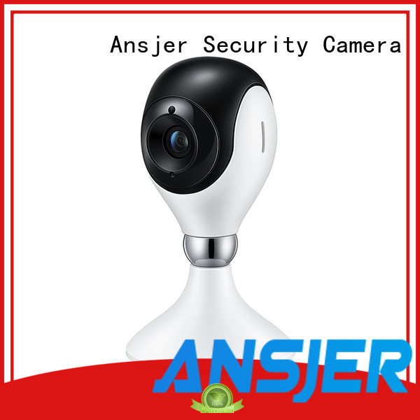 Ansjer Brand vision indoor alarm custom remote security camera