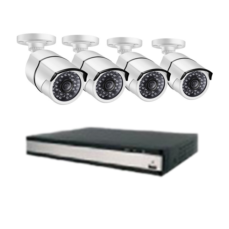 Ansjer 2.0mp HD POE 16CH NVR Outdoor Security System with 2MP Night View Bullet Camera