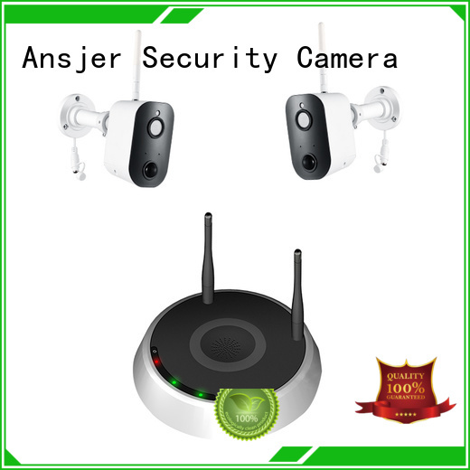 smart home camera full hd 1080p battery smart home security system motion detection Ansjer Brand