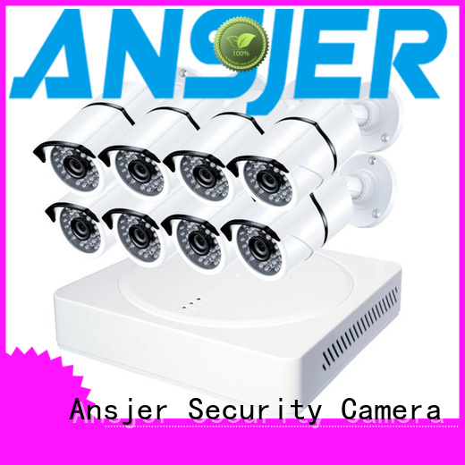Ansjer Brand super weather proof alert 5mp bullet camera