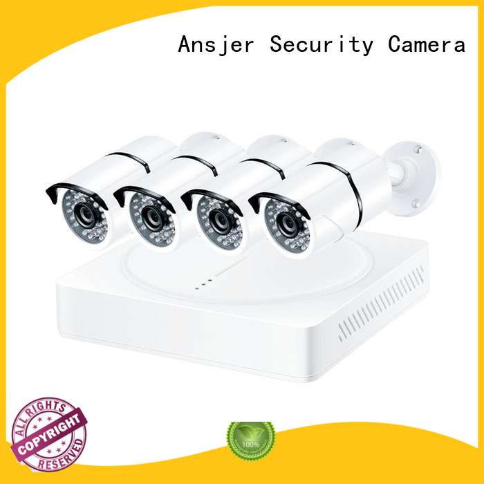 Custom alert high-tech 4k security camera system Ansjer detection