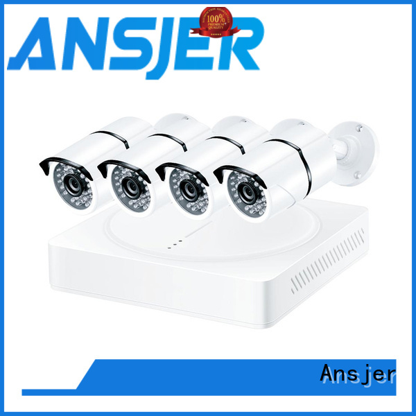 5mp bullet camera alert night 5mp surveillance system secure Ansjer Brand