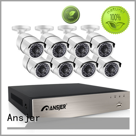durable outdoor Ansjer Brand 4 channel nvr poe factory