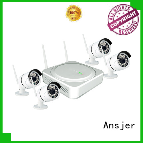 4 camera wireless security system indoor 2k wireless security camera Ansjer Brand