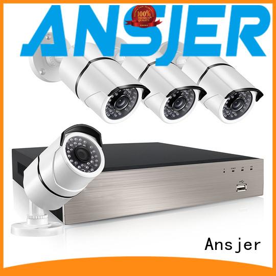 Quality Ansjer Brand bullet 1080p poe nvr