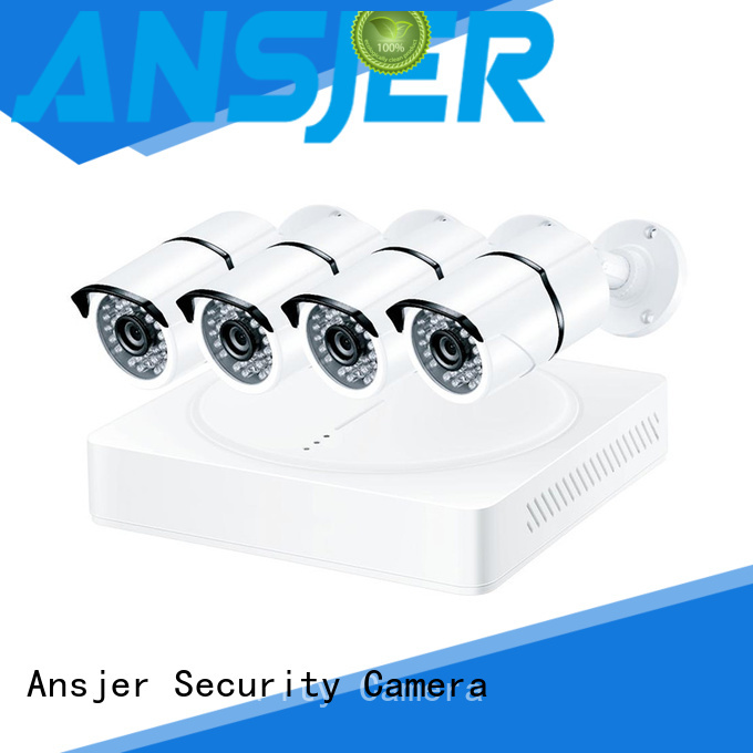 night weather proof vision Ansjer Brand 5mp bullet camera factory