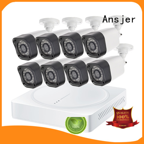 backlight compensation 720p hd security camera system indoor ansjer Ansjer company