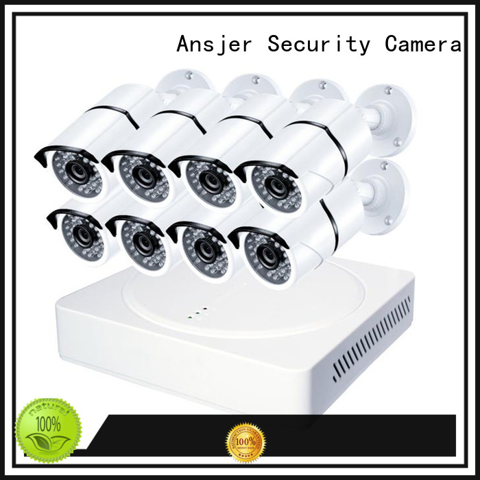 alert detection 5mp surveillance system night Ansjer Brand