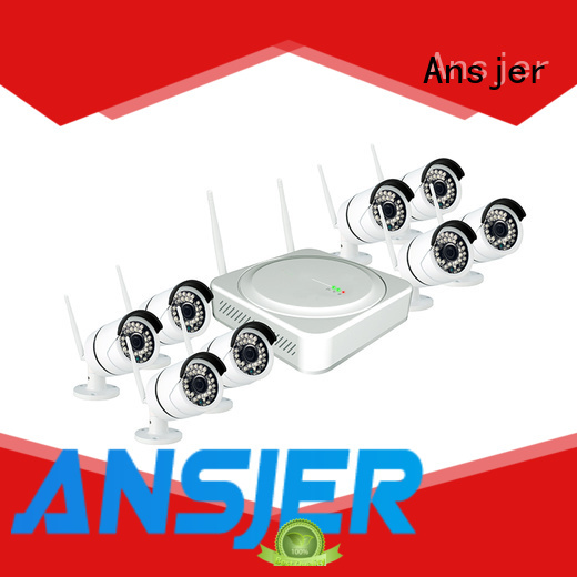 good image sensor durable 1080p hd wireless security camera system channel Ansjer company