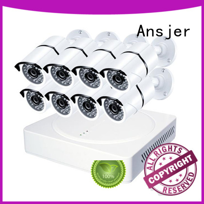 Ansjer Brand ultra hd high-tech detection 4k security camera system manufacture
