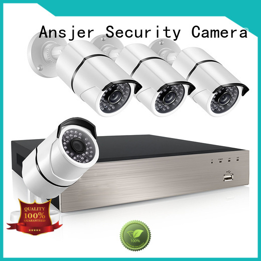 outdoor Custom view night 1080p poe nvr Ansjer security