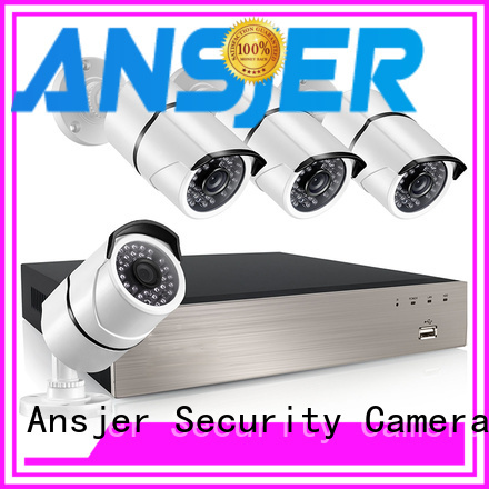 4 channel nvr poe night security 1080p poe nvr Ansjer Brand